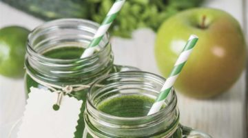 Smoothie Verde Desligue e para descansar