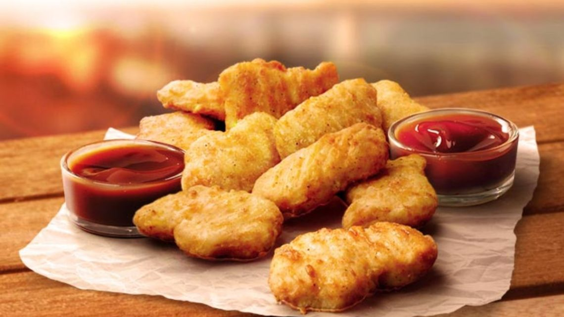 Ingredientes de nuggets