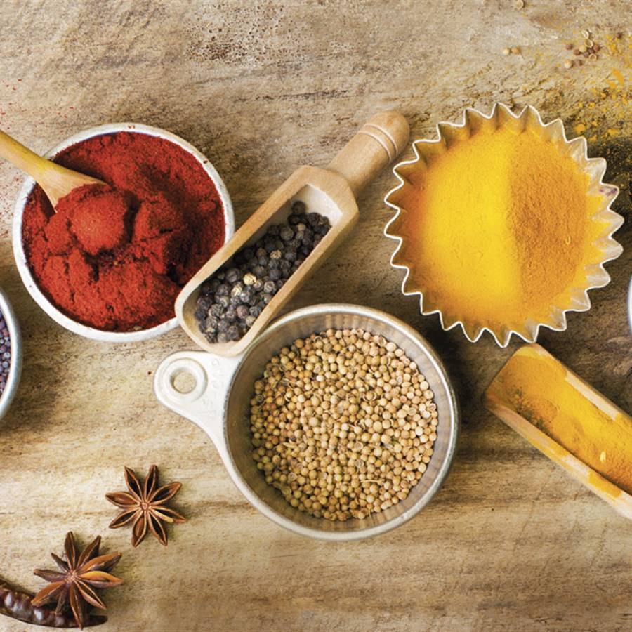 Ingredientes do curry